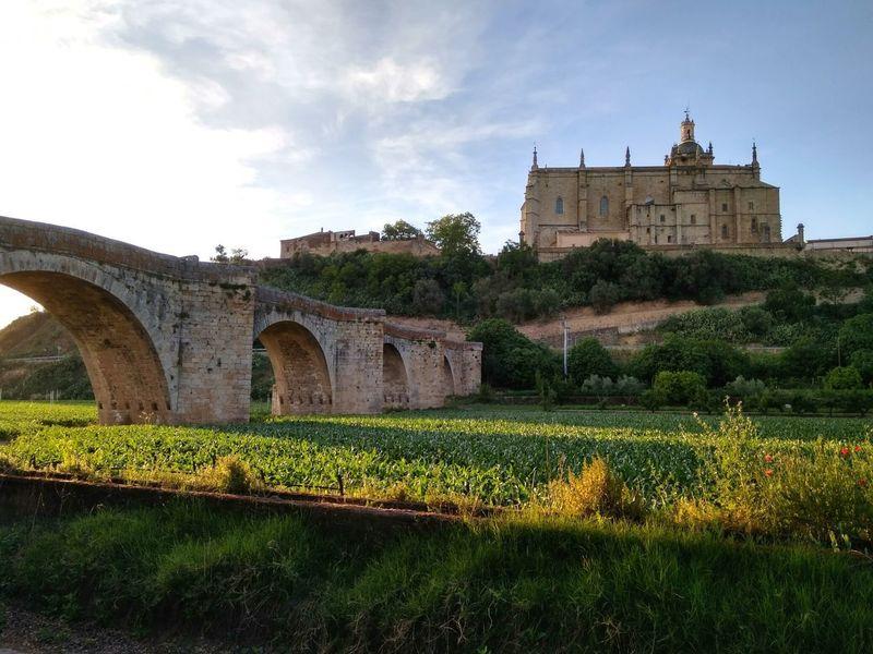 Extremadura Architecture Catedral Coria Puente Puente Medieval History Outdoors Day Travel Destinations No People Building Exterior Puente De Piedra Vieux Pont Cáceres (Spain)