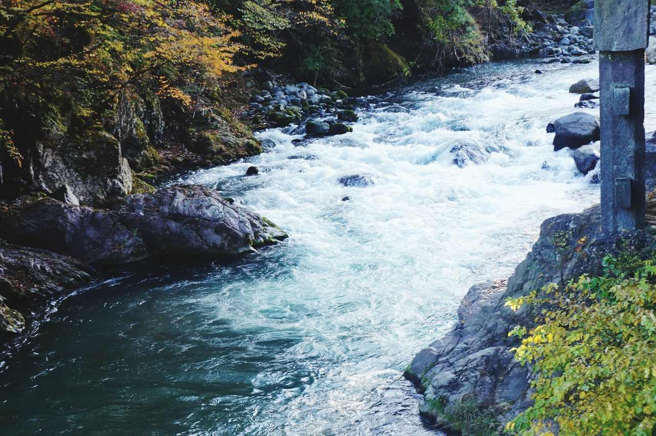 Waters. Water Nature Day No People Outdoors Tranquility Beauty In Nature Motion Scenics Close-up Waterfall Shinkyo Japan Nikko EyeEm Travel Photography Japan Photography EyeEm Best Shots Autumn River EyeEmNewHere