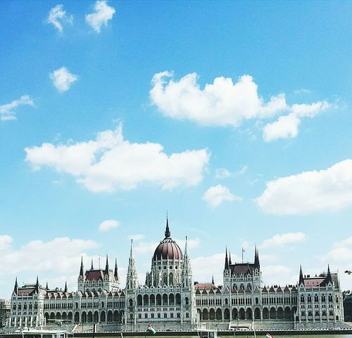 Architecture Cloud - Sky Politics And Government Parliament Of Hungary Budapest Love 💟