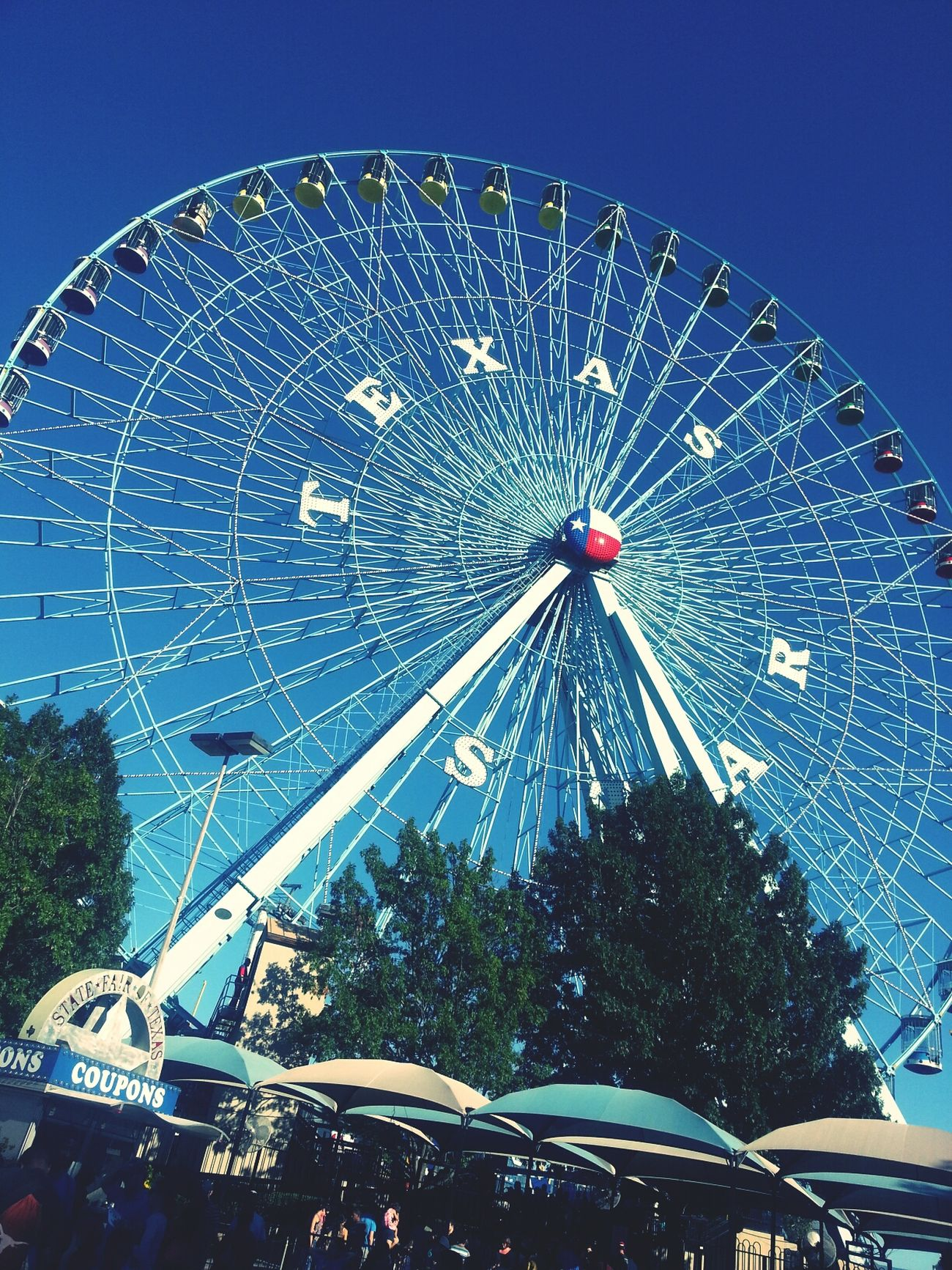 It's beautiful! ♥ Statefair Ferriswheel Texas Star
