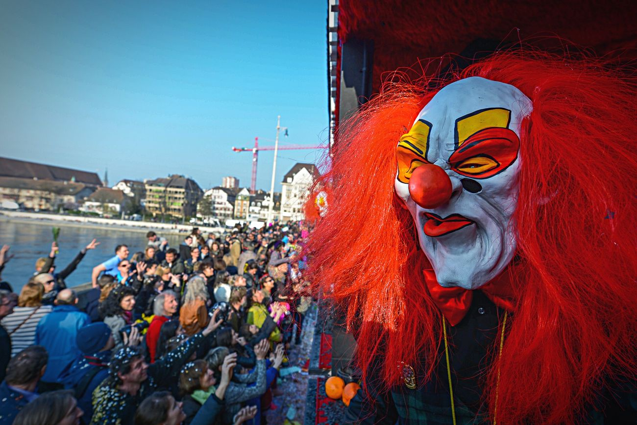 Soon .. ? Basler Fasnacht Fasnacht Enjoying Life Clown Carnaval Check This Out
