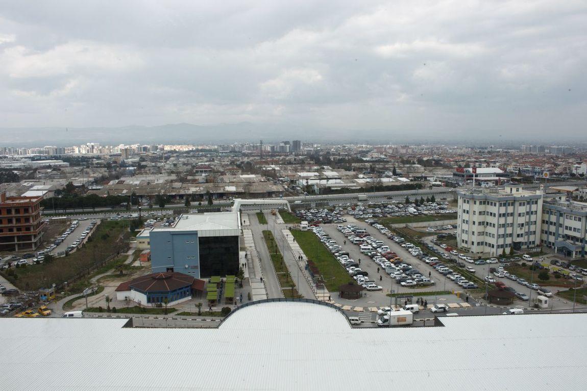 Cityscape Hospital Architecture Roof Sky Outdoors Urban Skyline EyeEmTurkey City Eyem Türkiye Cloudscape