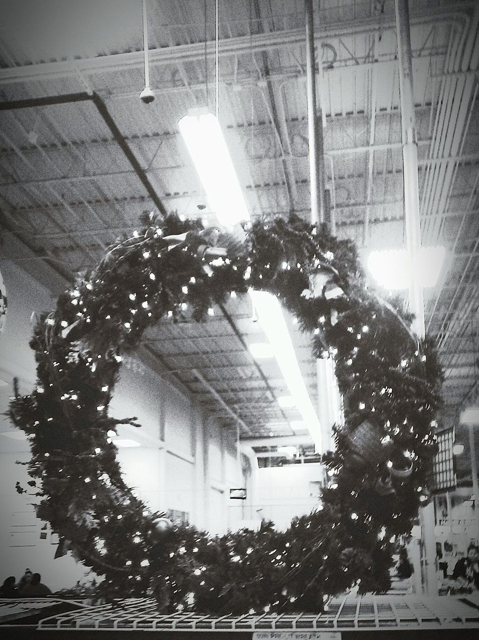 Christmas Decorations Never Too Early Never Too Late  Black & White Blackandwhite Cold Days Christmas Spirit Love