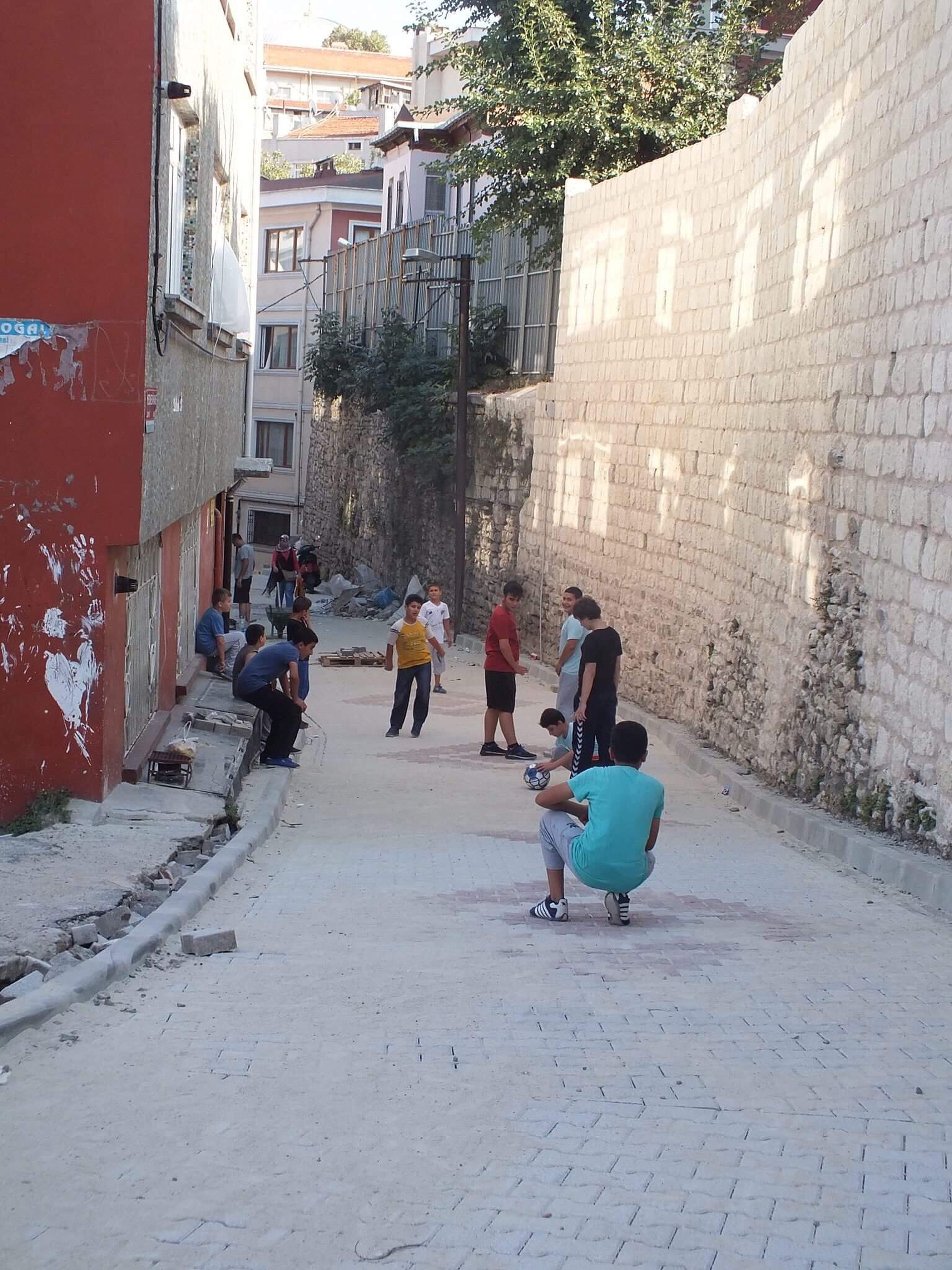 Building Exterior Built Structure Architecture Real People Men Lifestyles Outdoors Day Women People Turkey Türkiye Turkishfollowers Tagsforlikes Life Balat Amazing Good Morning Tb