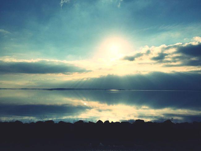 Strangford NaturalBeauty Scenic Sky Sun Lough Water