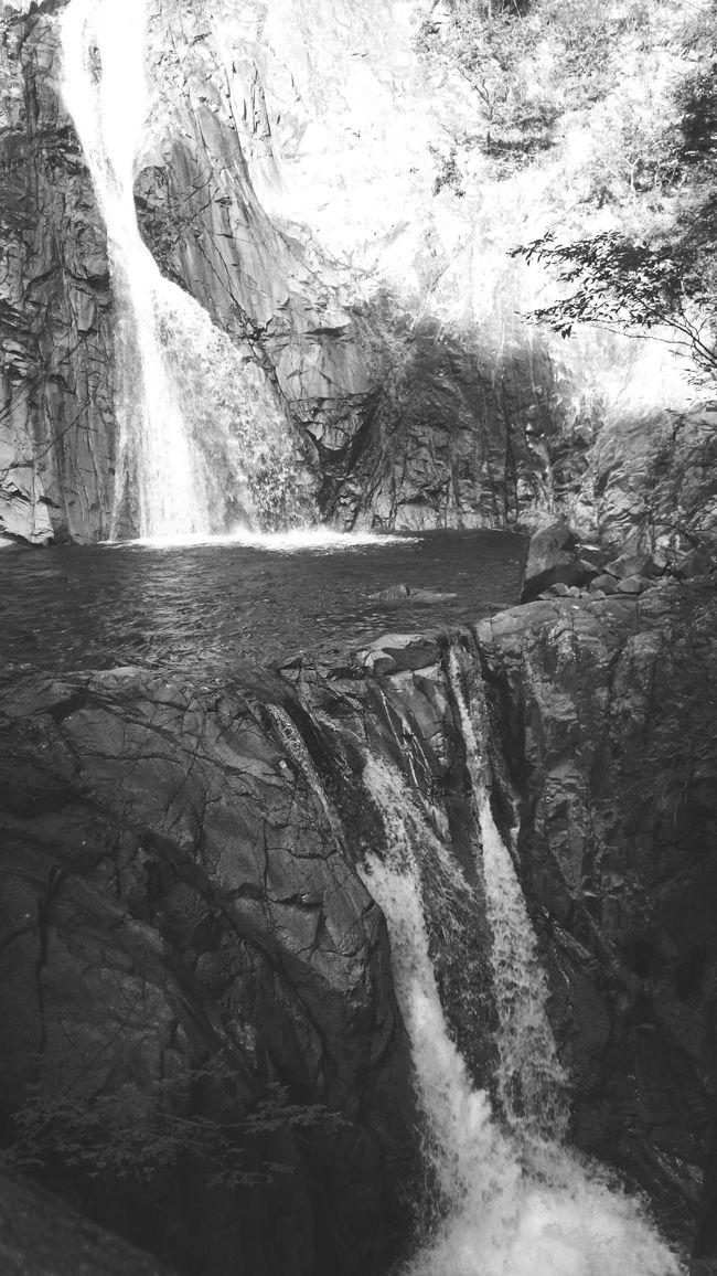 Taking Photos Blackandwhite EyeEm Nature Lover Water Falls in Kobe , Japan