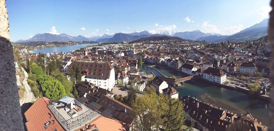 Luzern Sunny Day Panorama First Eyeem Photo