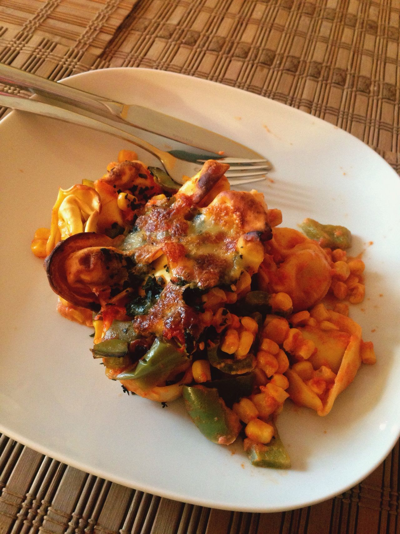 Food Tortelliniauflauf Ready-to-eat Apetit Lecker Healthy Eating Vegetable Schmackhaft Plate No People Tasty Mittagessen Lunch