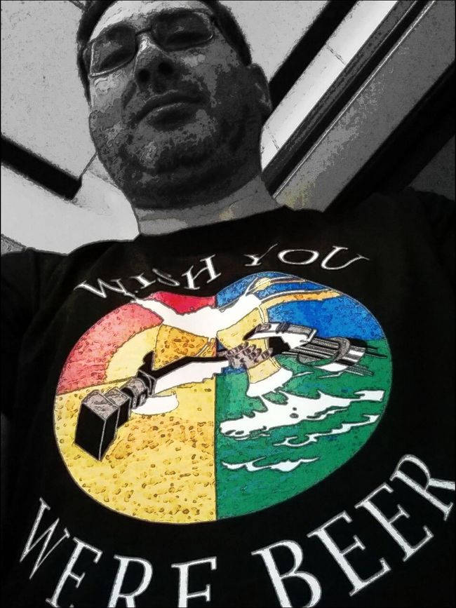 Tuesday_selfportrait_nonchallenge Colorsplash Wish You Were Beer
