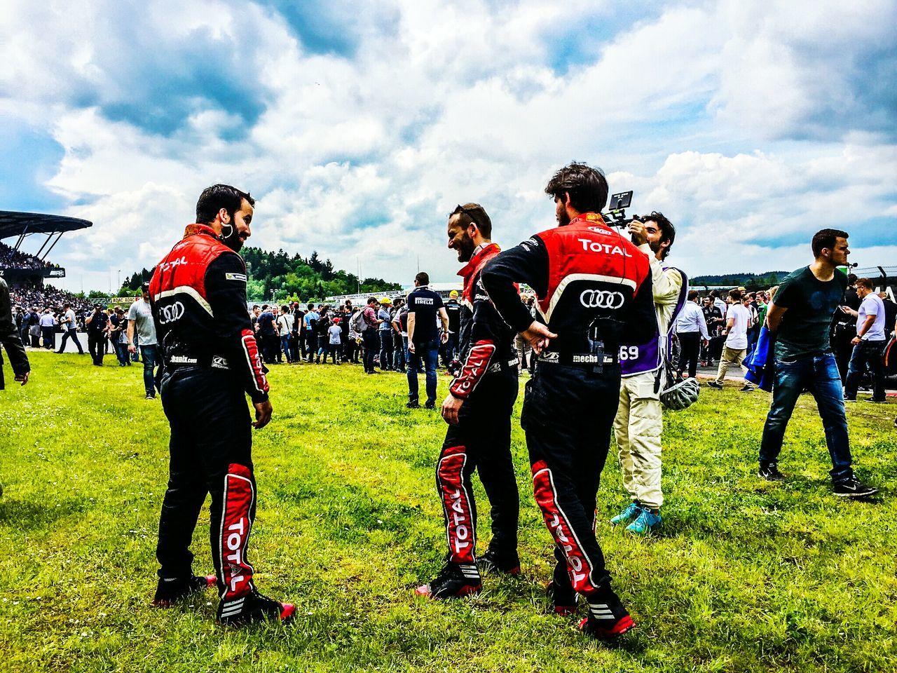 Motorsport Racing Race 24h Race Nurburgring Audi Total Nordschleife People Watching People Photography
