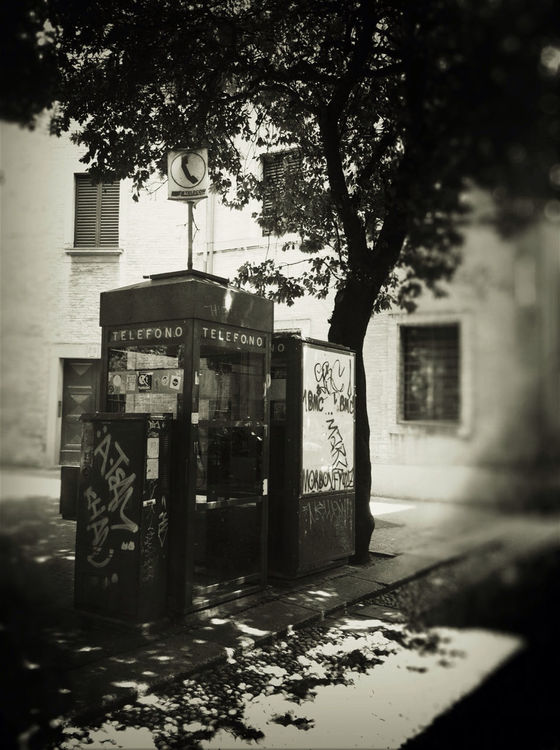 call... at Piazza Santo Stefano by biju1974