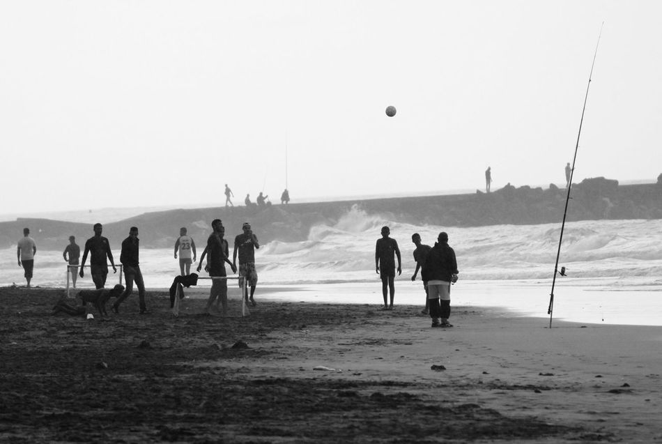 Beautiful stock photos of strand, Beach, Beach Volleyball, Beauty In Nature, Boys