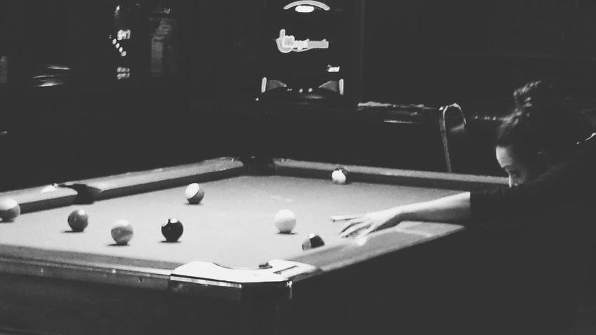 Billiards Shooting Pool Women Pool Shooting Stick Creative Light And Shadow Shades Of Grey What I Value Capture The Moment Picturing Individuality