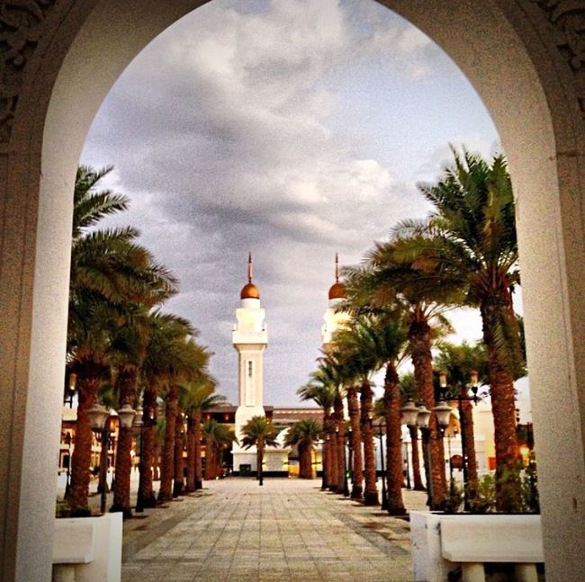 Kaust by the Masjid Mosque KSA Hanging Out Check This Out Taking Photos Hello World Architecture Landscape Scenery Hello World