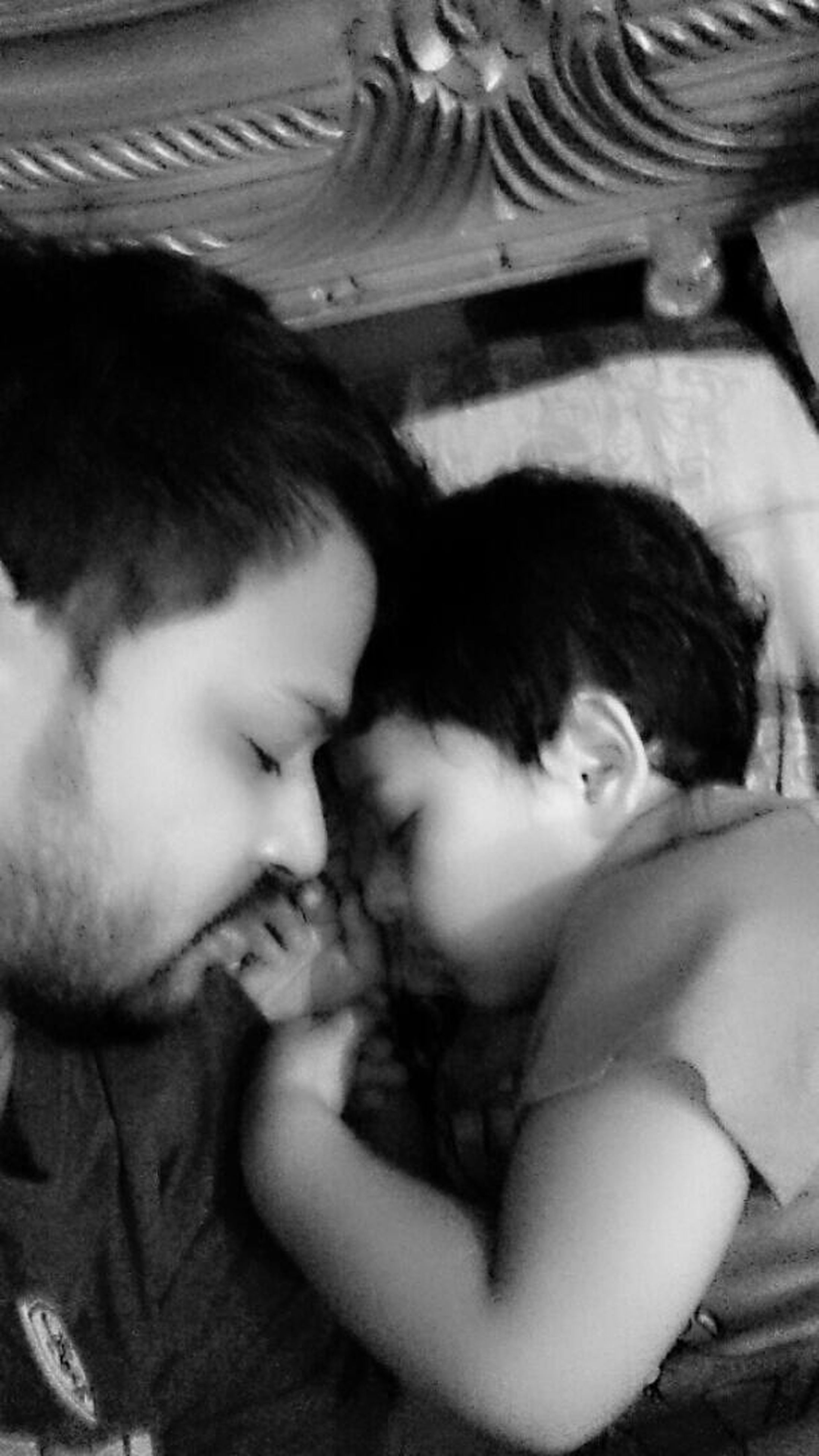 indoors, lifestyles, leisure activity, childhood, person, relaxation, high angle view, bonding, innocence, togetherness, elementary age, headshot, boys, girls, lying down, cute, sleeping