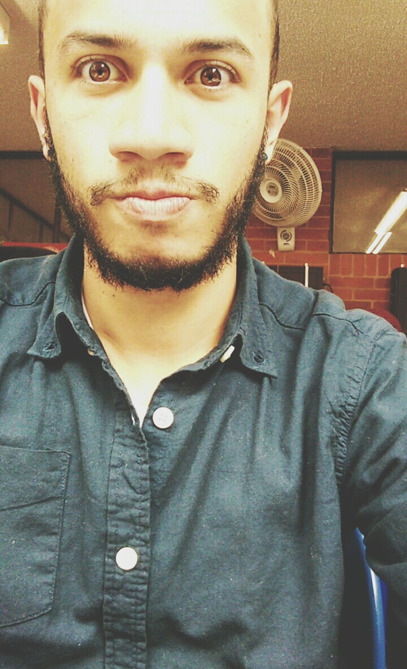 Eyes Happy Time Motivated Beard 🙆