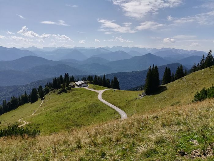 Scenics Mountain Landscape Mountain Range Nature No People Cloud - Sky Outdoors Tourism Travel Destinations Sky Day Alps Mountains Nature