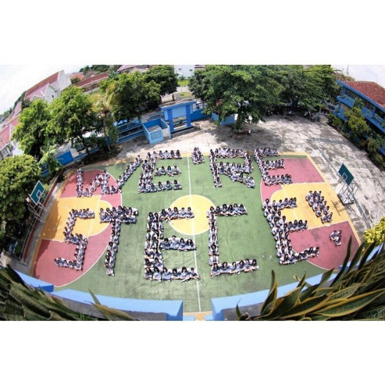 We're STECE Stece Stece1 Highschool Homogen tarakanita yogyakarta