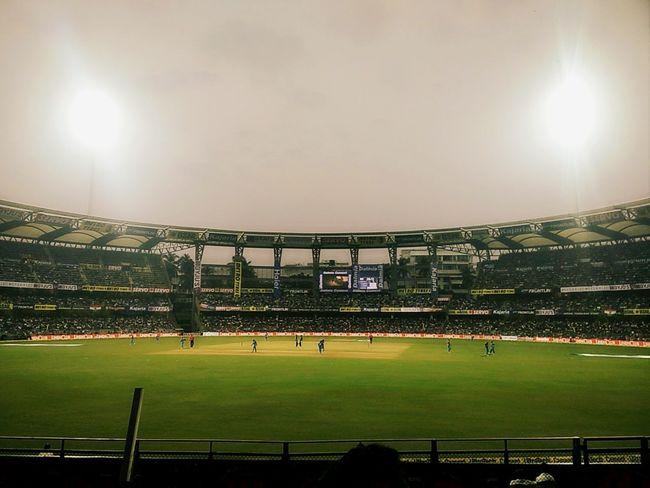 Odi Cricket! INDvsNZ Wankhede Stadium Grass Audience Green Color Black & White Shotfromoneppus MumbaiDiaries Mumbai_igers Mumbai_in_clicks Mumbai Meri Jaan Mumbaiphotography Mumbai_instagrammers Mumbaihappening Mumbaibestgram EyeEmNewHere