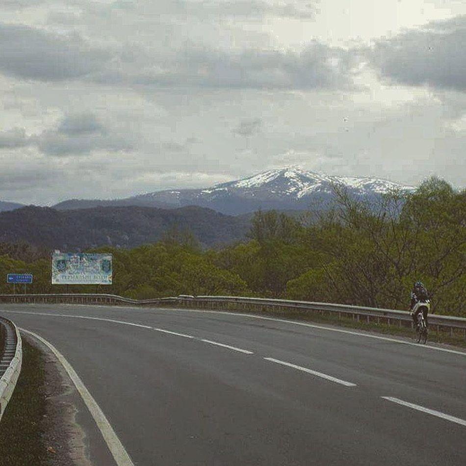 Боржава зі сторони закарпаття гора Стій Карпати roadbike ukraine_blog карпатськідороги