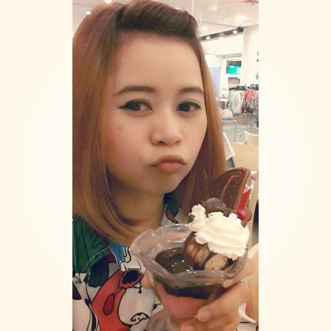 ^_^ Ice Cream Yummy Binge Eating Cherry On Top