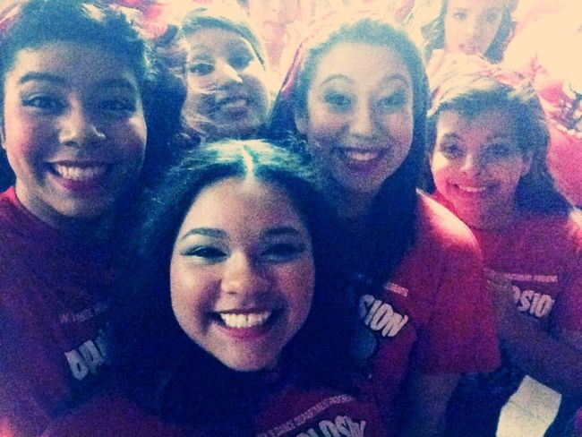 Last picture I took for the dance explosion ❤