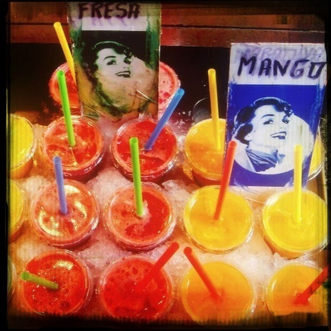 My Eye Candy Is... Colorful Drinks Summer