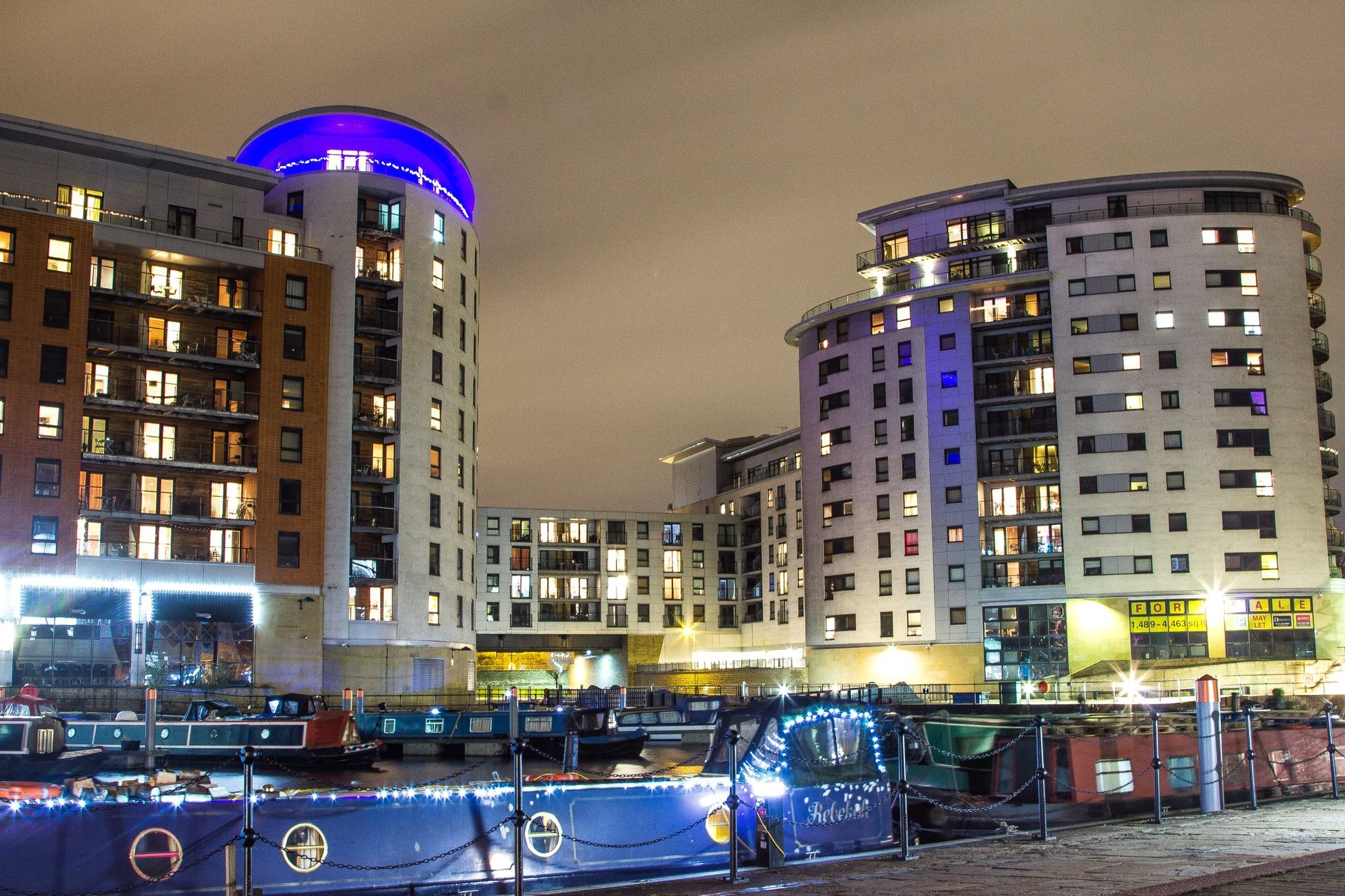 Long Exposure Building Cityscapes City Clarence Docks Leeds