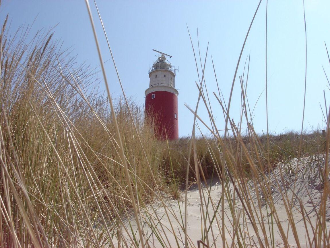 Nuture Beach Leuchturm Nordseeküste Texel