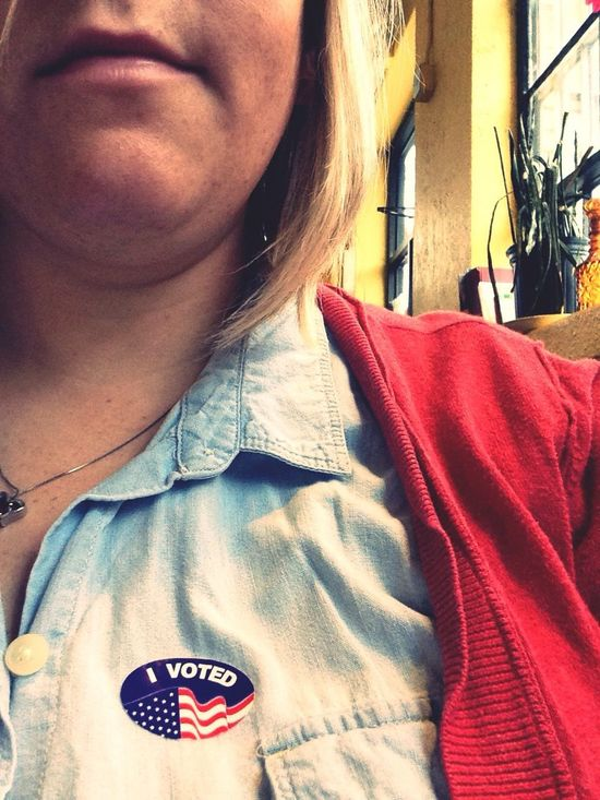 Duty done. Elections I Voted Kansas Libertarian