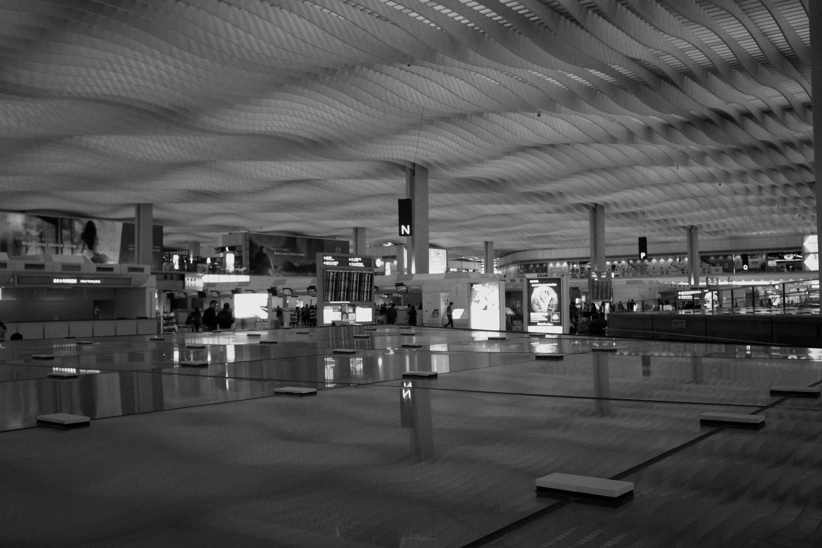 Leica 3.5cm F3.5 Architecture Built Structure Airport Sony No People City Tim Wong Hong Kong Black And White