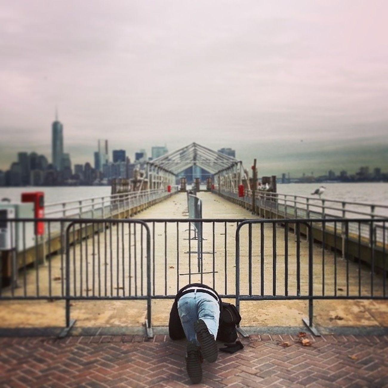 Emilio Caughtgramming . Brannan Lux Touristing  NYC NewYork NewYorkCity statueofliberty igers igersnyc instagramnyc