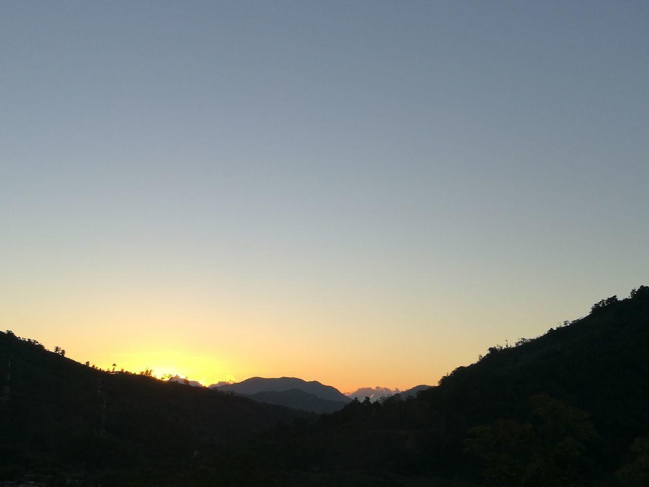 Dota Sunset Sky Mountain Beauty In Nature Nature No People Outdoors Dota Costa Rica