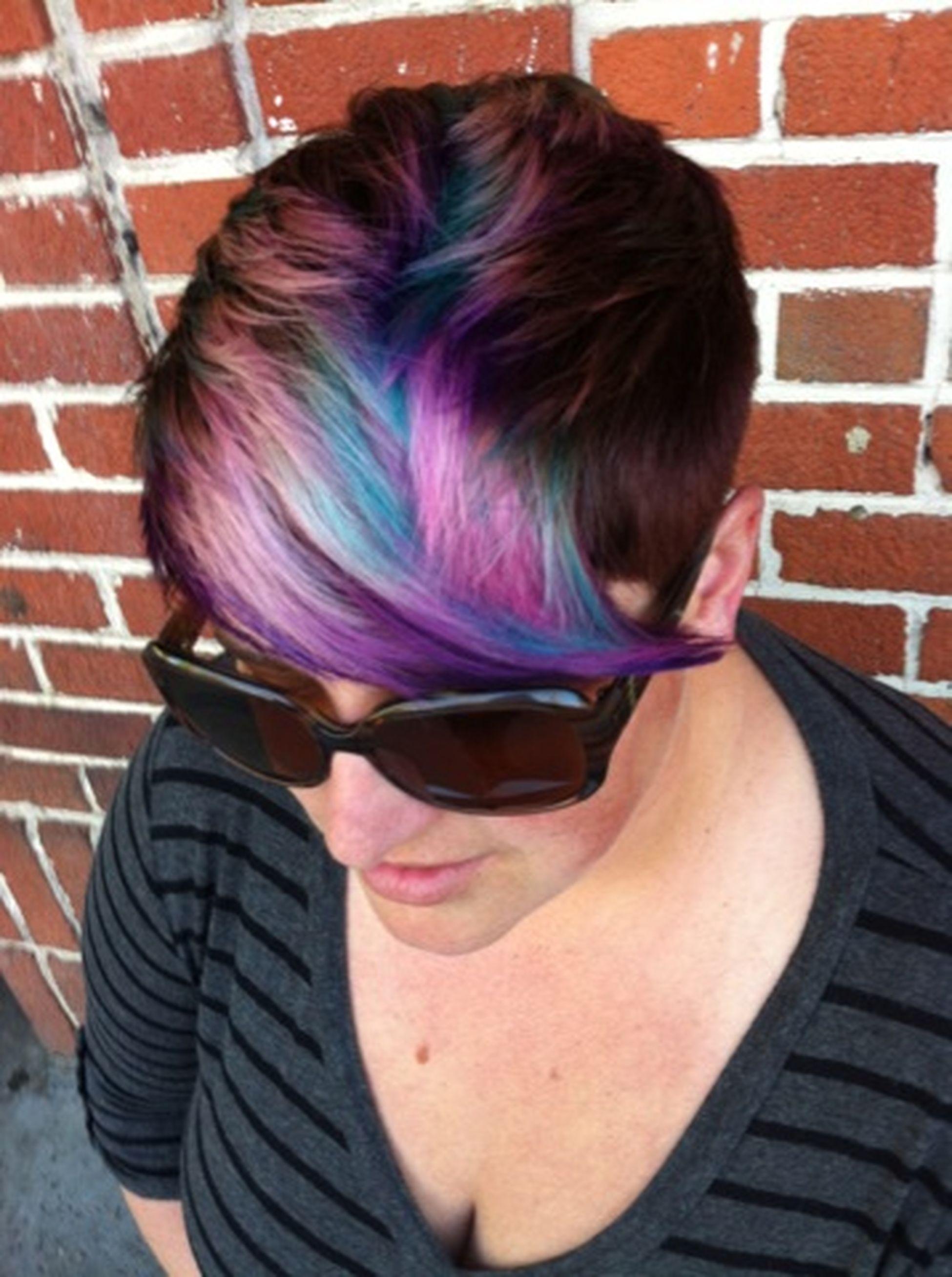 Hair Color Haircolor Fun Hairbyme Downtownsalonandgallery Chico, California Nofilternoedit