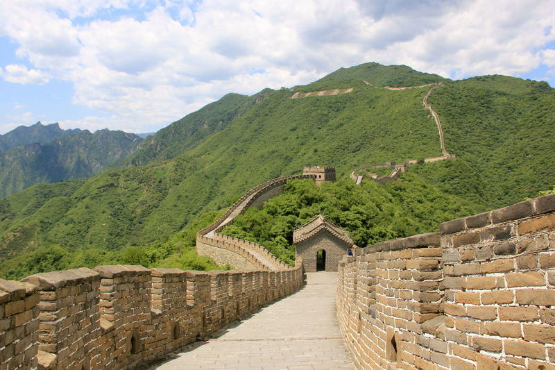 China Landscape Great Wall Great Wall Of China Architecture Built Structure China China Landscape Chinese Day History Mountain Range Nature Outdoors Sky Steps And Staircases Travel Destinations