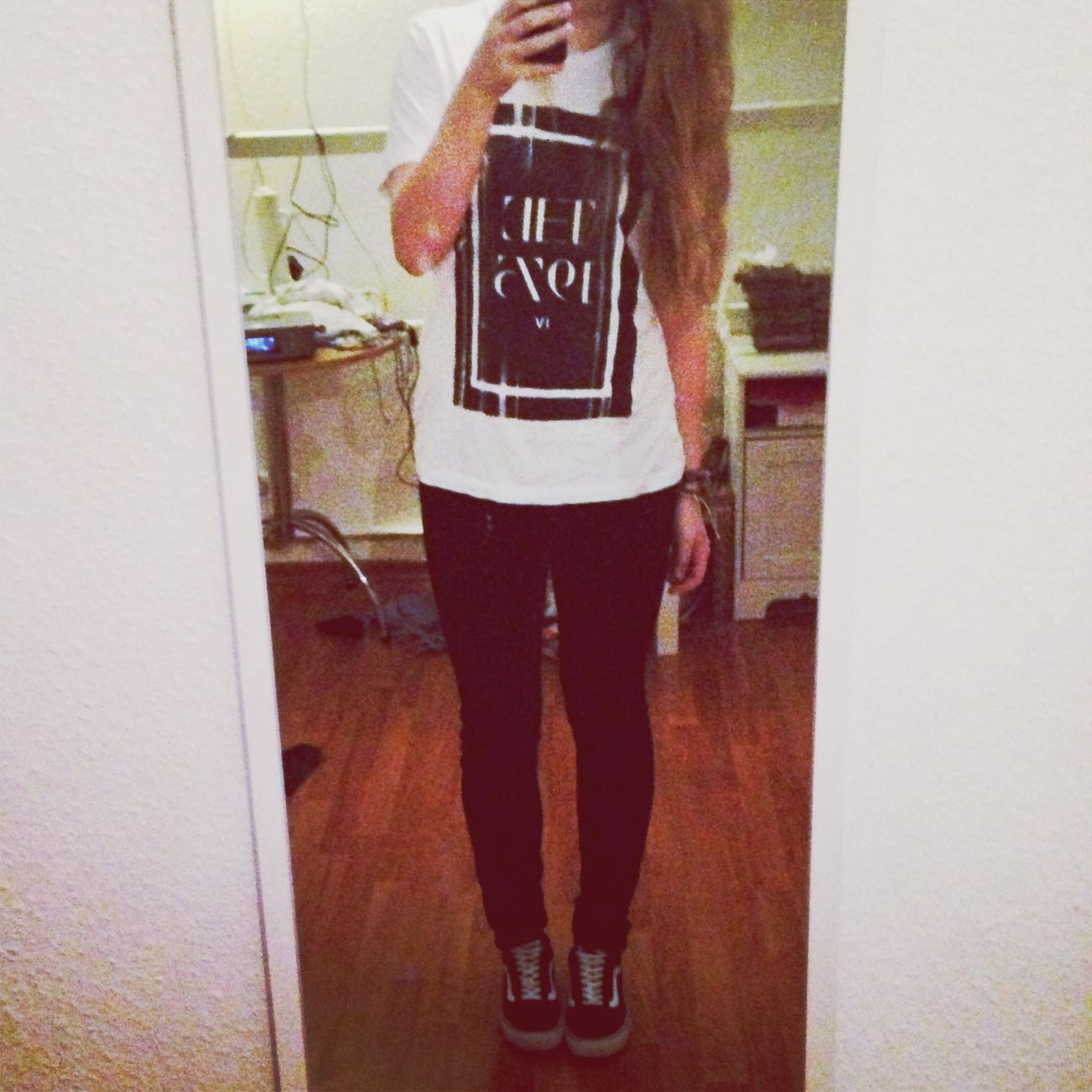 Outfitoftheday ♡ ~ Bandshirt ❀