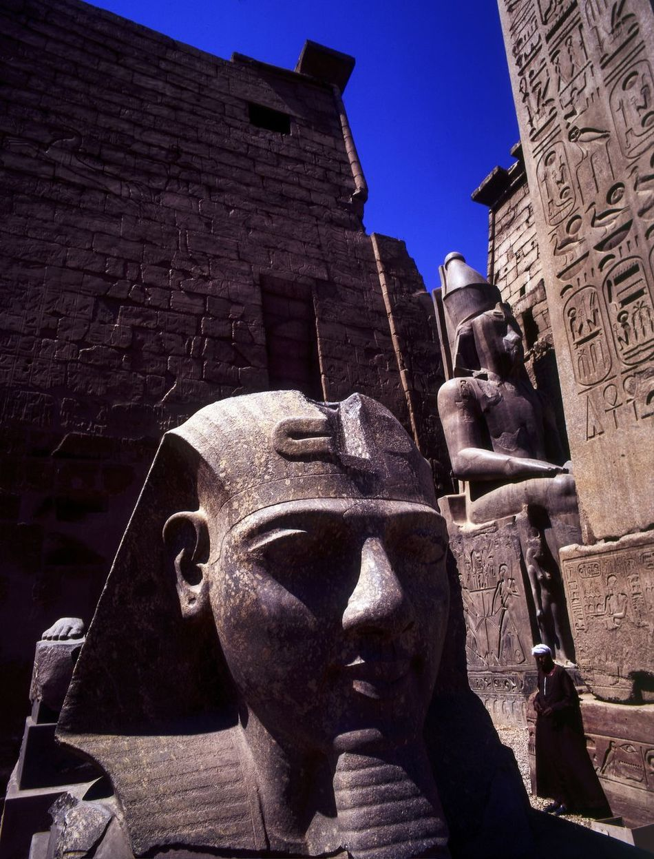 Temple of Amon Ra Luxor. Sphinx and Obelisk of Ramses 2 Africa Ancient Architecture Architecture Close-up Cultural Heritage Culture Egypt Egyption Egyptology Historical Historical Monuments Inscriptions Landmark Luxor Temple Obelisk Outdoors Place Of Worship Ramesses II Sculpture Sphinx Tour Guide Tourist Attraction  Travel Photography Upper Nile