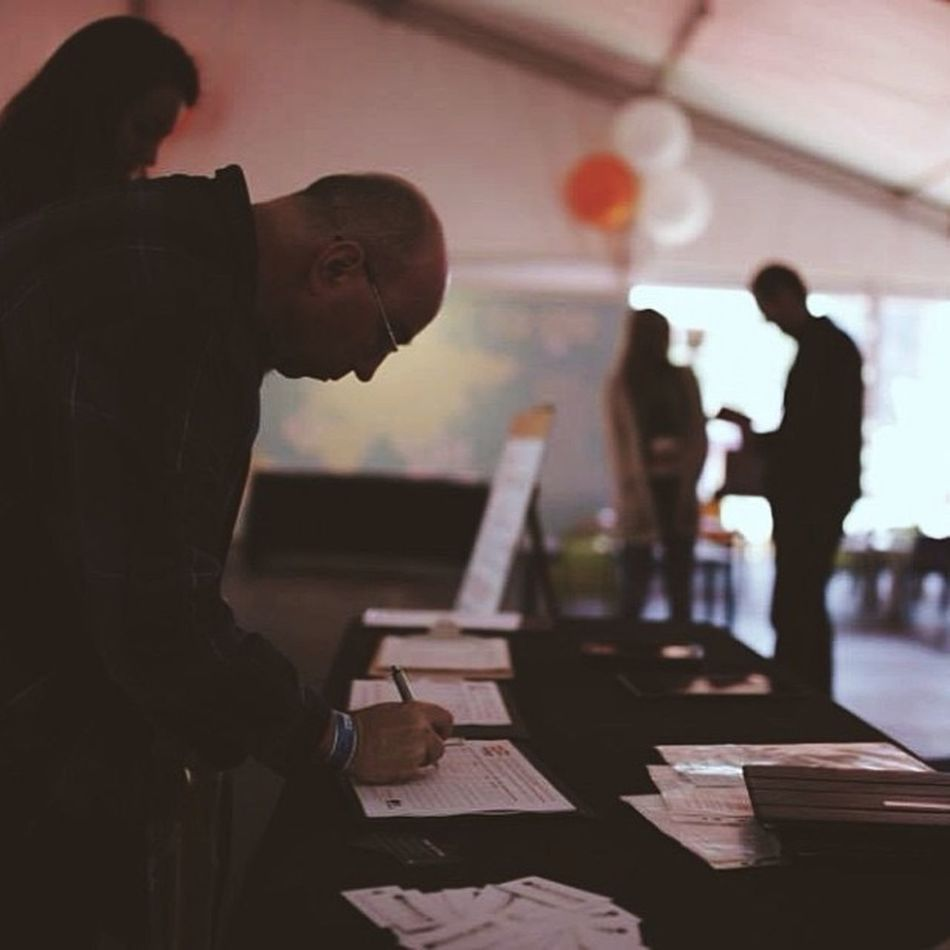 Hillsongconf delegates signing up Halvepovertyby2015 Vscocam