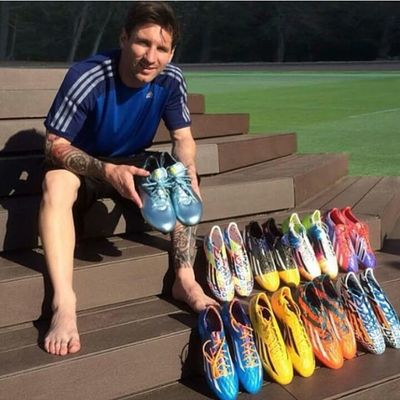 Leo messi collection 👟👟👍😍