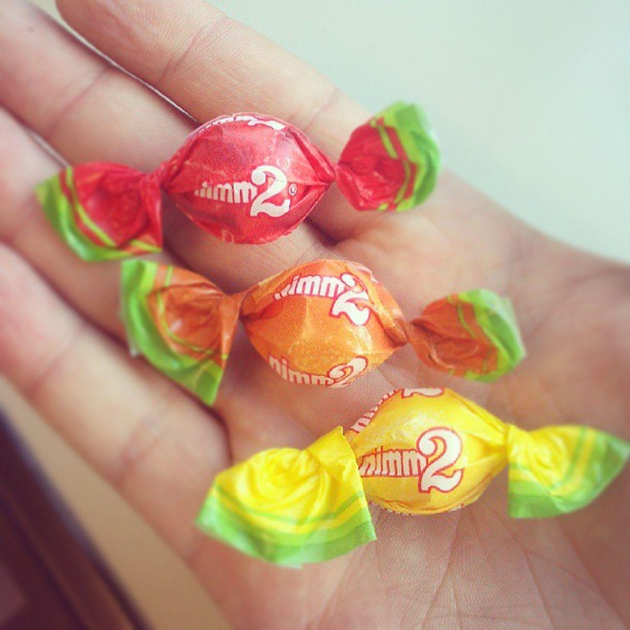 Denn es gibt keinen besseren Weg, die Nerven zu beruhigen :-D Nerven Beruhigen Calmdown Nimmzwei Süßigkeiten sweets Red yellow Orange