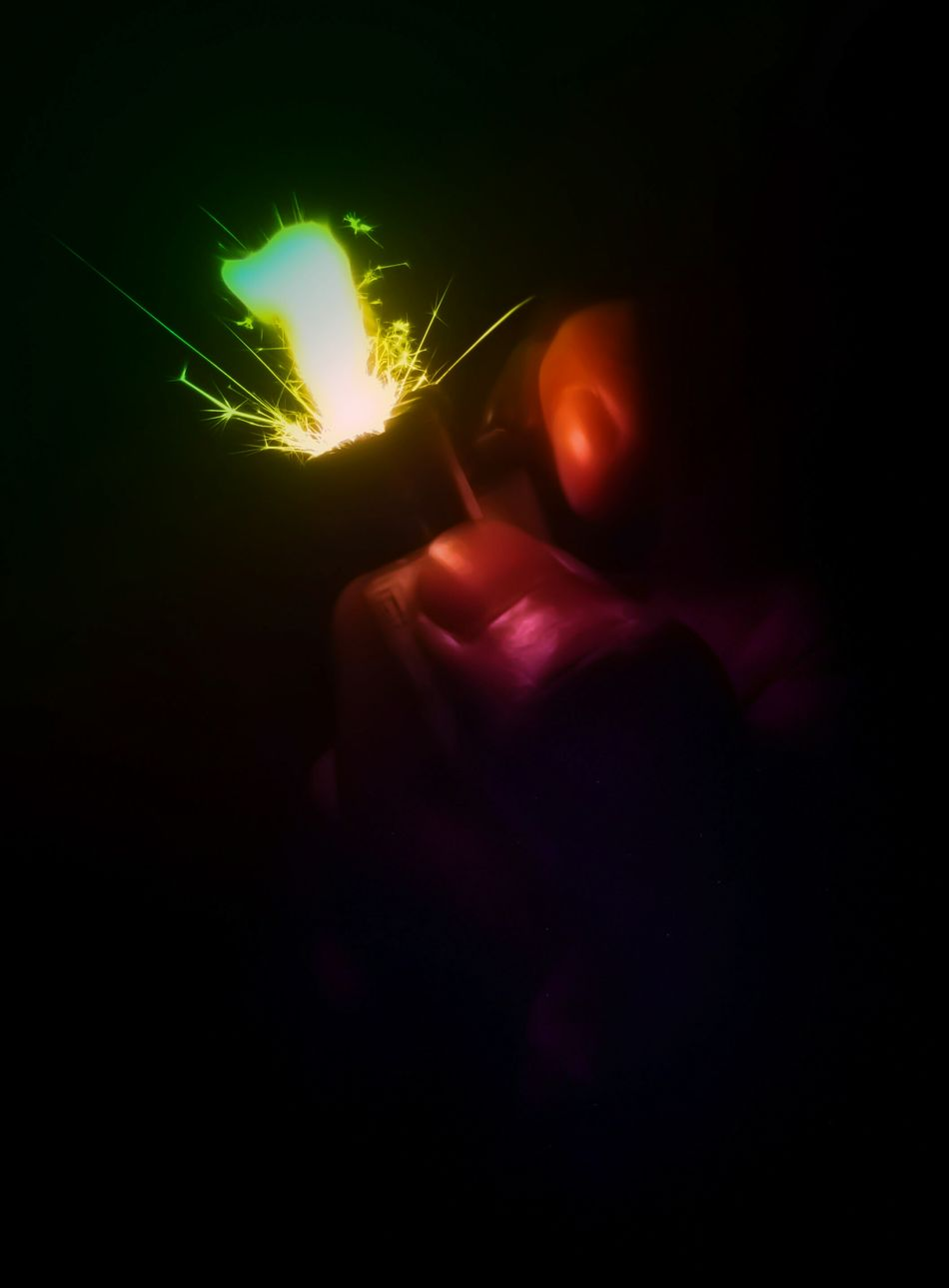 There's a spark in you, You just gotta ignite the light and let it shine. Night Illuminated Light Effect Psychedelic Spark Soul Lighter Hallucinations Colors Neon Flash Long Exposure EyeEmNewHere Oneplus2 Mobilephotography Welcome To Black