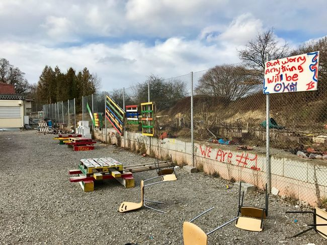 Closed down refugee camp in Germany. Outdoors No People Refugees Refugee Refuge Camp Refugee Camp Closed Down Closed Abandoned Abandoned Places Leftovers Built Structure Architecture Building Exterior