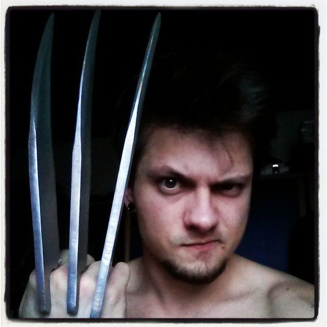 #what about a #wolverine #shooting? #haha i already got the #claws for it. #pictures #photooftheday #photograph #xmen #instagood #instadaily #instagramhub #instamood #logan #weaponx #weapon #adamantium #art #movie #thewolverine Instagood Instagramhub Shooting Instadaily Art Adamantium MOVIE Thewolverine Pictures Weaponx Haha Photooftheday What Logan Instamood Wolverine Photograph Xmen Claws Weapon