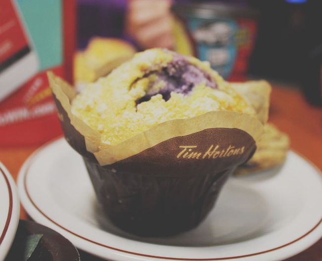 Muffin Timhortons Canada