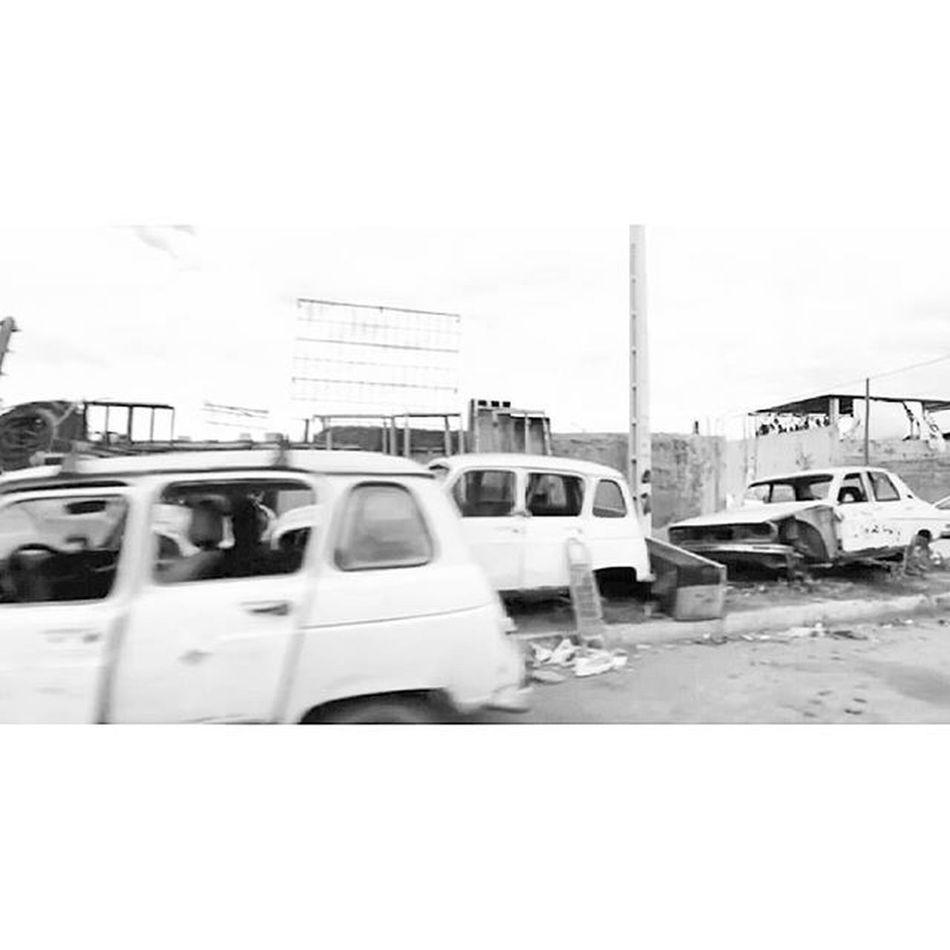 Goodafternoon Cars Laferraille Car_death Oklm . R4 R12 . Blackandwhitephotography . LHAYL7AFI 04 .