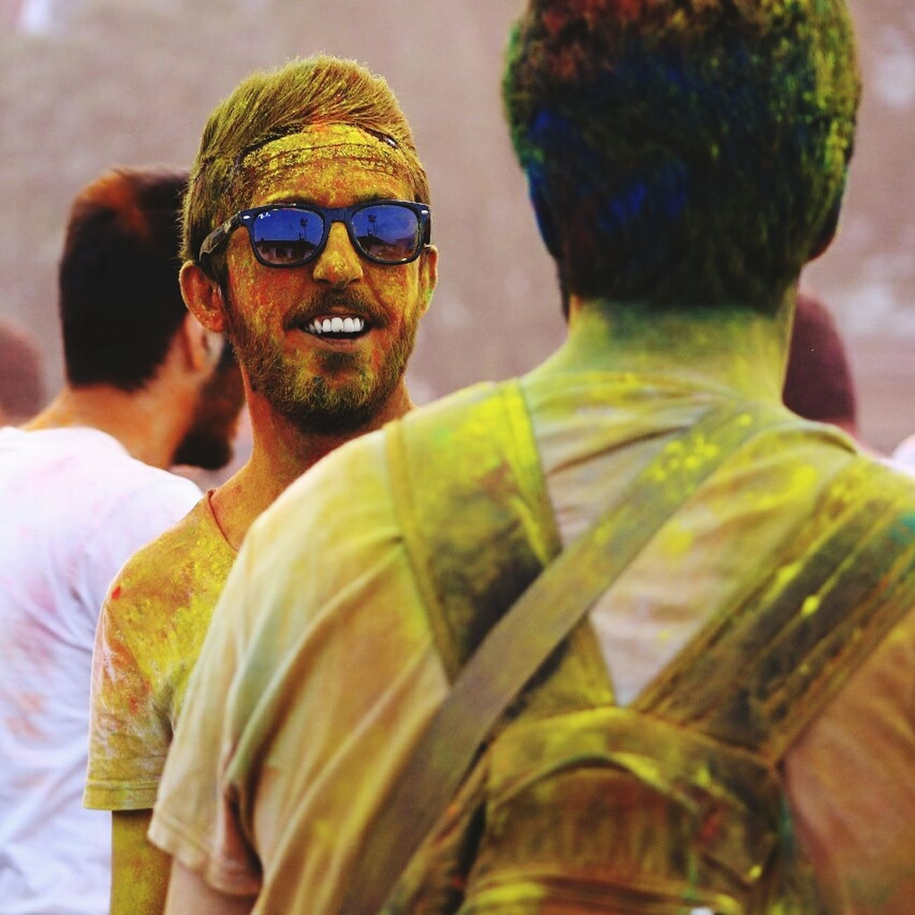 Genclikbesiktasta Colorup Festival Photography