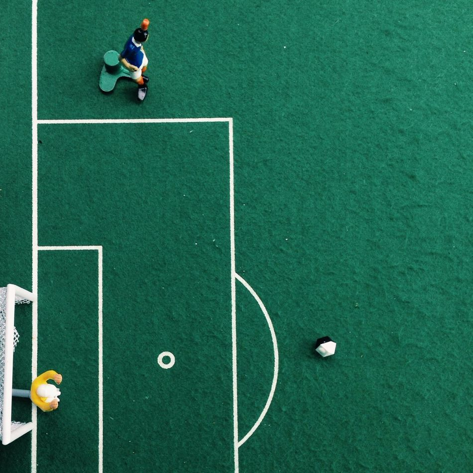 Beautiful stock photos of players, Artificial, Directly Above, Field, Figurine