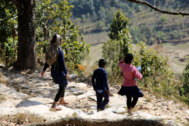 Nepalese Nepal #travel Nepal Travel Countryside Country Life Nepali  Nepal Nepalese Family Nepalese Culture Chidren On The Way Home Children Nepalipeople😊 Bandipur Nepalese Beauty