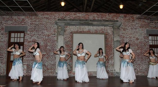Performance day (weekend) of belly dance Taipei