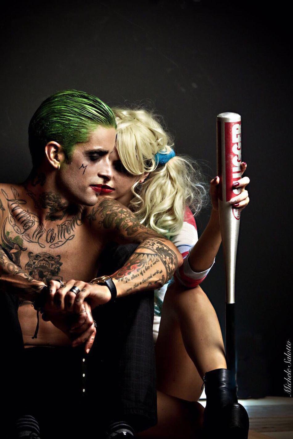 Joker harley J&R lips